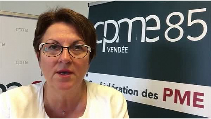 Marie-Agnès MANDIN, Présidente CPME85, revient sur sa rencontre avec Edouard PHILIPPE  @cpme_85